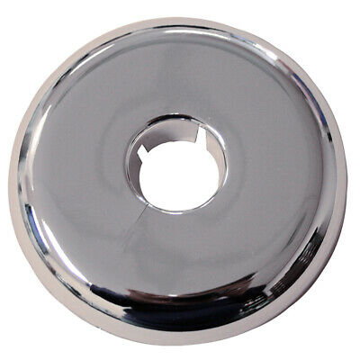 "Pack 12, Chrome Plated Plastic 2"" IPS 4.450 Flange OD Flexible Floor and Ceiling"