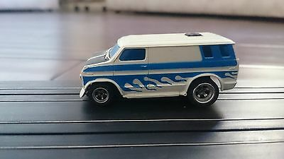 AFX custom van on magnatraction speciality chassis, slot car, mint unused