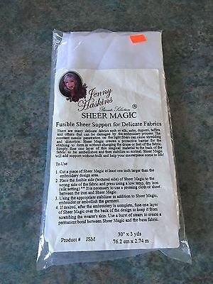 Jenny Haskins Sheer Magic Fusible Stabiliser/Support