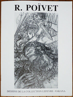 Raymond POIVET Dessins de la collection LEFEVRE-VAKANA 1990 Poïvet