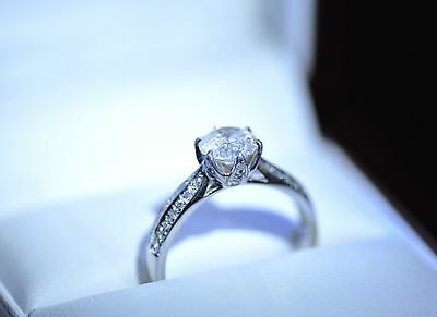 1.18 Ct  Diamond  Engagement  Ring  Value $ 6260