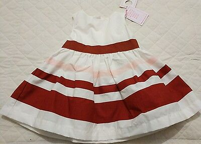 White Pumkin patch baby girl dress size 000 (0-3 months)