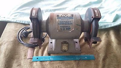 "Ryobi 6"" Bench Grinder.tools,woodwork,house,shed,sharpening,shed,hobby,metal,"