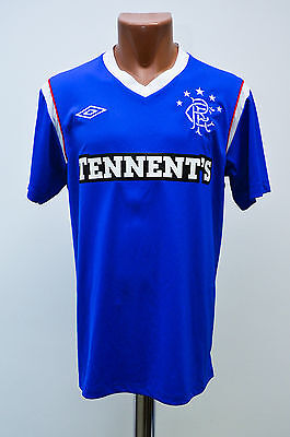 Glasgow Rangers 2011/2012 Home Football Shirt Jersey Umbro Scotland