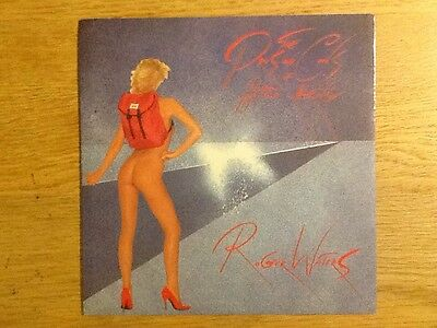 Roger Waters The Pros And Cons Of Hitch Hiking Harvest HAR5228 UK 7inch Single