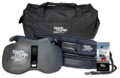 Black Magic Equalizer Fighting Belt and Harness Set Size: XL/Standard New