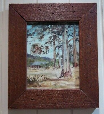 Painting by Listed Artist , Beth Burkett in Recyled Timber Frame