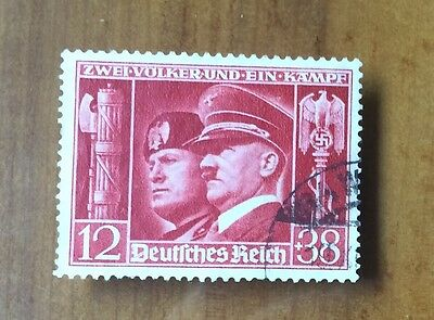 EBS Germany 1941 Hitler-Mussolini Brothers-in-Arms Michel No. 763 FU (5)