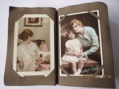 Vintage 1917/18 Gladys Cooper Post Card Collection - 83 Cards in Total