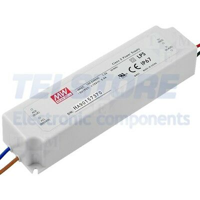 1pcs LPV-60-5 Alimentatore switching per diodi LED 40W 5VDC 8A 90÷264VAC MEAN WE