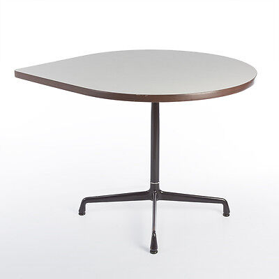 Herman Miller Vintage Original Teardrop Contract Table on Glide Base