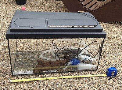 FISH TANK 2FT With Accessories - £20.00 | PicClick UK