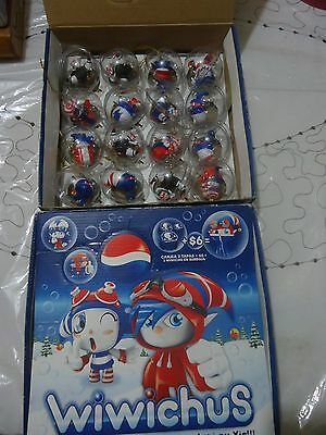 Pepsi Promotional Box Of 16 Bubbles With Wiwichus Figures