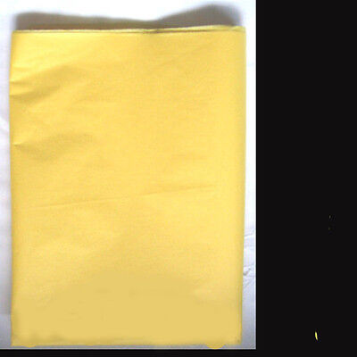 20 Yellow Tissue Paper Gift Wrapping Craft Party Packing 500x750mm Acid Free