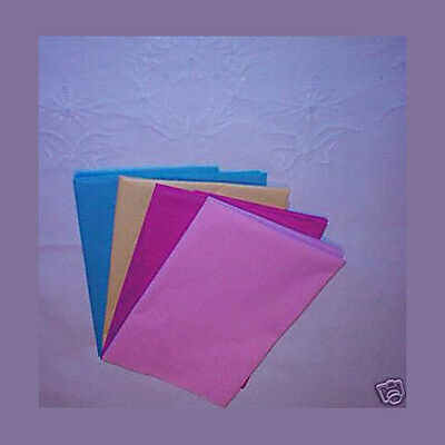 20 Mix Colour Tissue Paper Gift Wrap Craft Party Packing 500x750mm Acid Free