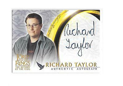 Lord of the Rings The Return of the King Richard Taylor WETA Auto Autograph