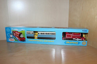 Thomas the Tank Engine TOMY SKARLOEY  Brand New in Box Very Rare TOMY Collectors