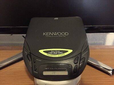 KENWOOD Portable CD Player Discman - Tested And Working