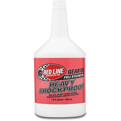 RED LINE 58204 Heavy ShockProof Gear Oil Case 12/ 1qt In Stock Free Shipping