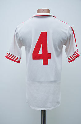Admiral Vintage England Style 1980's Away Football Shirt Jersey #4