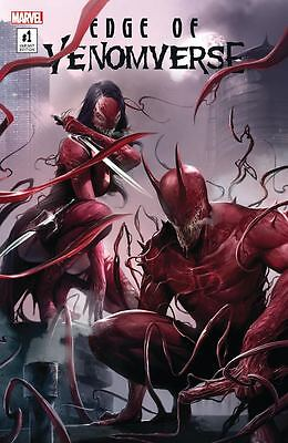 Edge Of Venomverse 1 NM Francesco Mattina Color Variant Daredevil Elektra Venom