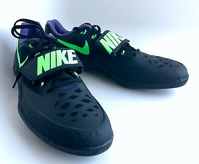 $110 NIKE ZOOM ROTATIONAL 6 Shot put Discus Shoes 685131 035 Men's Size 14