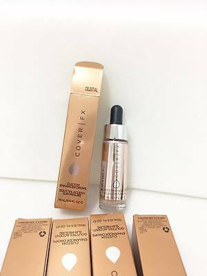 Cover FX Custom Enhancer Drops liquid highlighter FULL SIZE *TRUSTED SELLER*