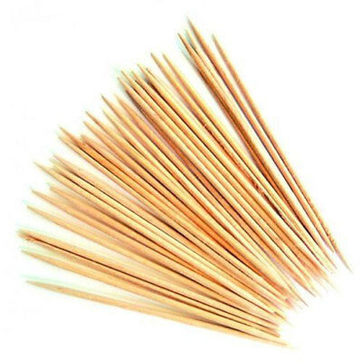 New Wooden Cocktail Sticks Tooth Picks Cherry Olive Cheese Buffet Party 25-500pc