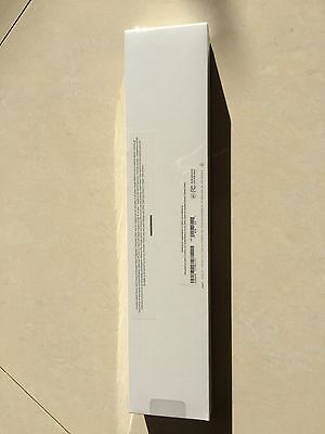 Sealed Apple Watch Series 1 38mm Silver Aluminum Case White Band - (MNNG2LL/A)