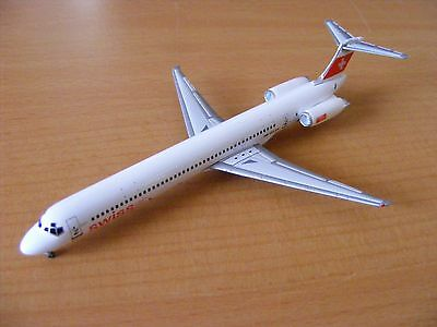 Tucano Line (Gemini Jets 1:400 Scale) Mcdonnell Md-83 Swiss Int.air Lines Hb-Isx