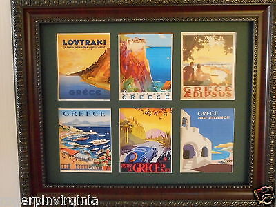 GREECE - Reproduction Tourism  PICTURES IN FRAMES
