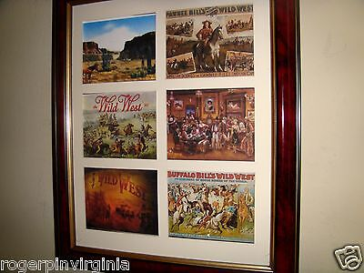 Buffalo Bill's Wild West And Other Circus Pictures In Frames
