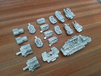 ORK BATTLE SHIP (Unpainted) ** BATTLEFLEET GOTHIC ** - RARE OOP