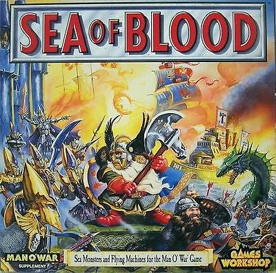 MAN O WAR SEA OF BLOOD FULLY BOXED ** UN PUNCHED ** MAN O WAR Expansion