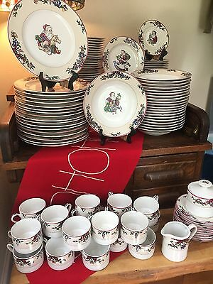 """Christmas In June!!! Fitz & Floyd """"santa""""s List"""" China...heavily Discounted!!!!"""