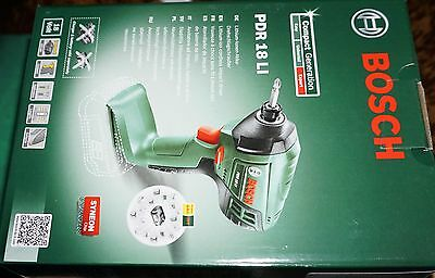 Bosch PDR 18 Li-Ion Cordless Impact Driver Bare Unit Power 4 All Range