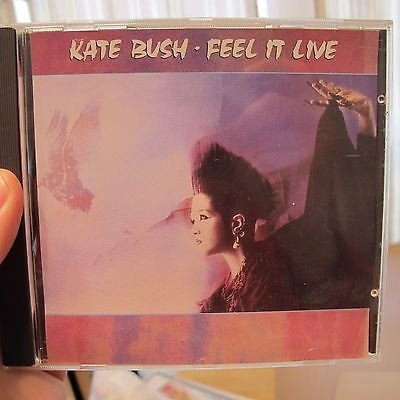 Kate Bush - Rare Cd From Italy 1991 Live In Concert Nm- Condition.