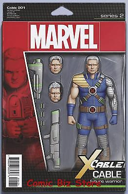 Cable  #1 (2017) 1St Printing Christopher Action Figure Variant Cover  X-Men
