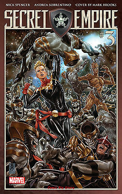 Secret Empire #3 (Of 10) (2017) 1St Printing Bagged & Boarded