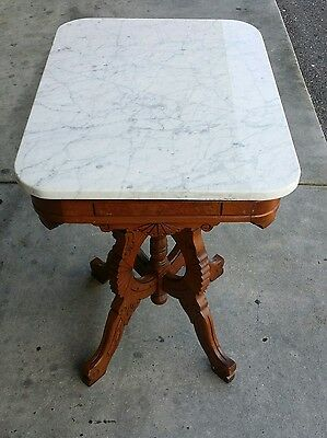 Victorian Marble Top Table