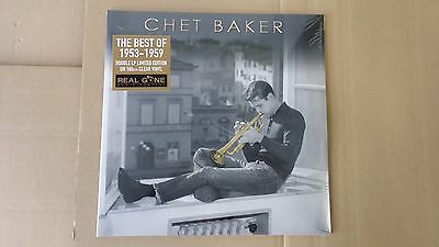 CHET BAKER - THE BEST OF 1953 -1959 - 2-LP limited edition clear vinyl 2016 ss