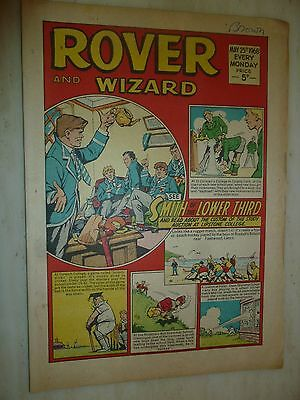 Comic- THE ROVER and WIZARD - 25th May 1968