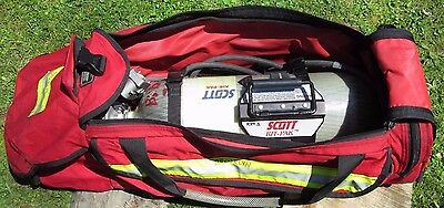 *SALE* SCOTT RIT-PAK SCBA System With 60m Luxfer 4500 psi cylinder & accessories