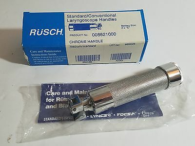 Rusch Standard Laryngoscope Handle  008621000 Medium