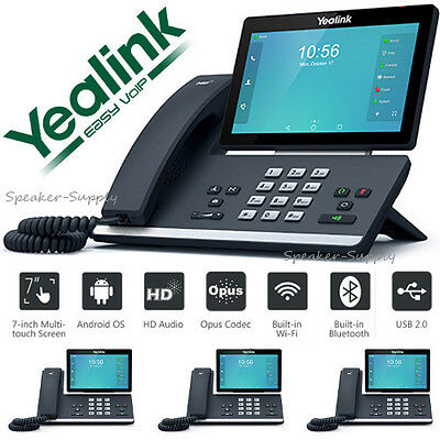 4 PACK YEALINK SIP-T58V HD Android IP 16 Line IP Phone Opus Smart