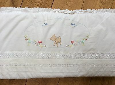 Little Bird by Jools Oliver cot bumper