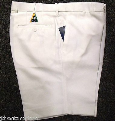 Bowls Australia Approved Flexi Waist Lawn Bowls SHORTS CREAM limited Sizes left