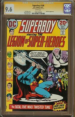 Superboy #198 CGC 9.6 Signature Series NICK CARDY