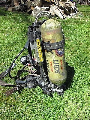 SALE* Scott NXG2 4.5 SCBA 2002 Edition with HUD's RIT (option to sell SCBA only)