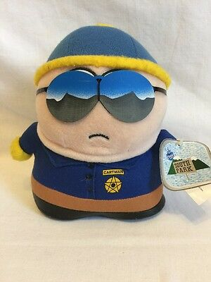"South Park Vintage Cartman 5.5"" Cop Plush - Used With Tags"